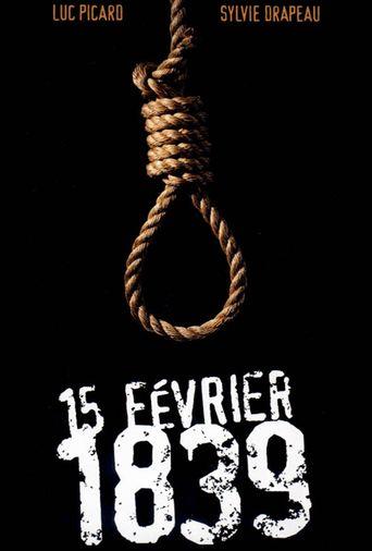 15 Février 1839 Poster