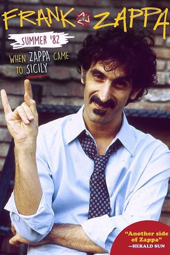 Summer '82: When Zappa Came to Sicily Poster