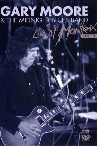 Gary Moore & The Midnight Blues Band: Live At Montreux 1990 Poster