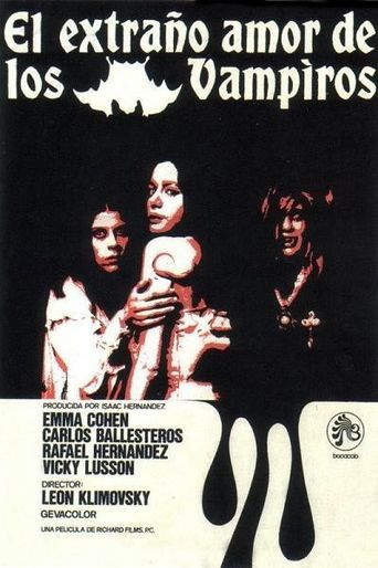 Strange Love of the Vampires Poster