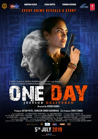 One Day: Justice Delivered Poster