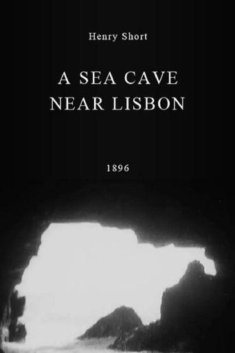 A Sea Cave Near Lisbon Poster