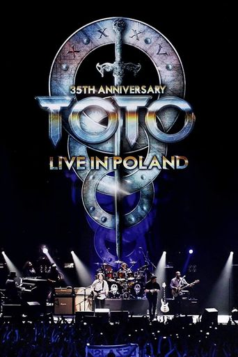 Toto: 35th Anniversary Tour Live in Poland Poster