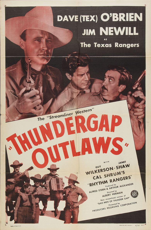 Bad Men of Thunder Gap Poster
