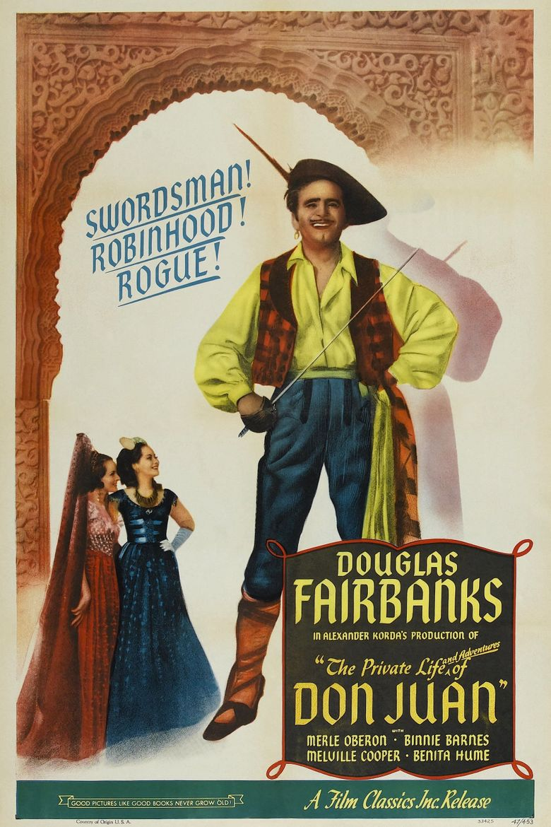 The Private Life of Don Juan Poster