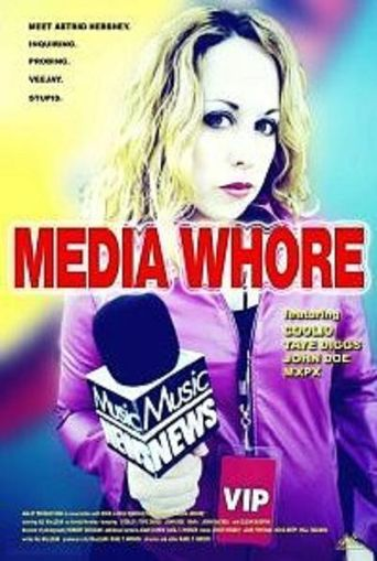 Media Whore Poster