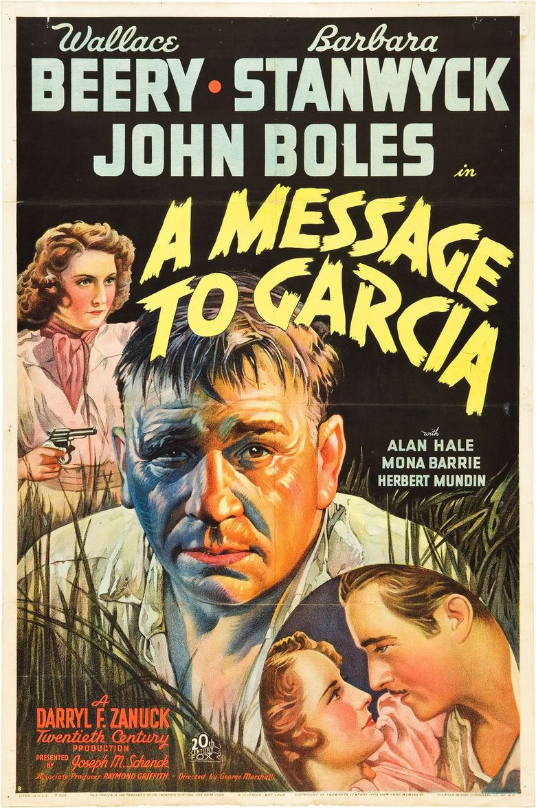 A Message to Garcia Poster