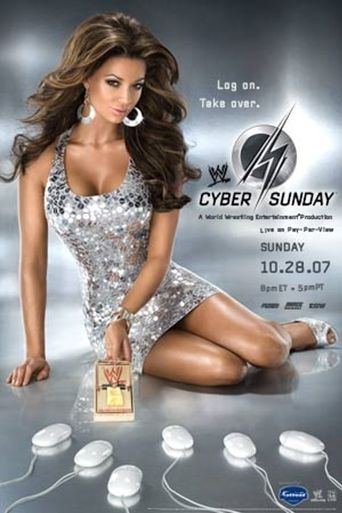 WWE Cyber Sunday 2007 Poster
