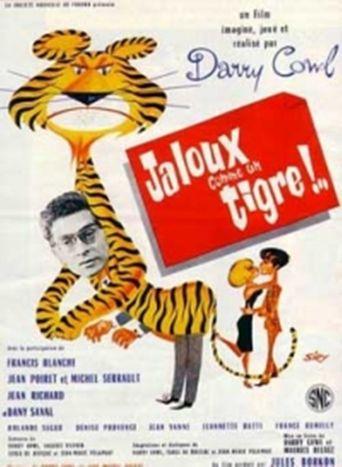 Jaloux comme un tigre Poster