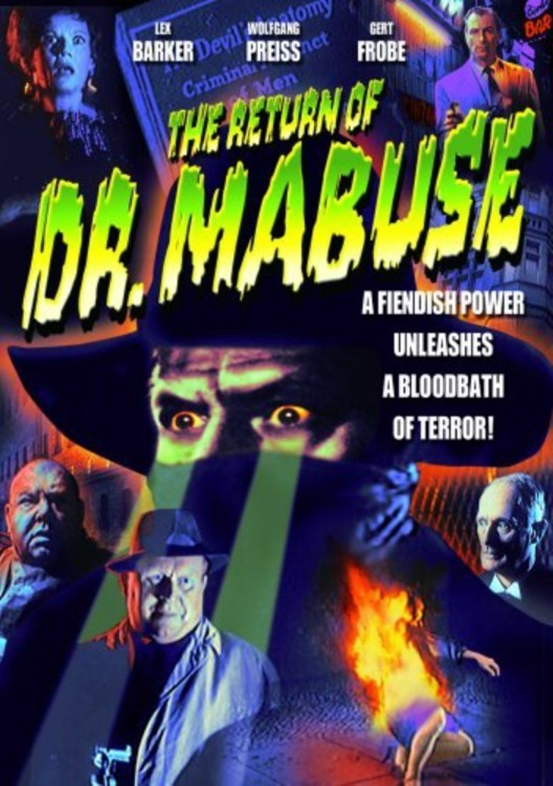 The Return of Dr. Mabuse Poster