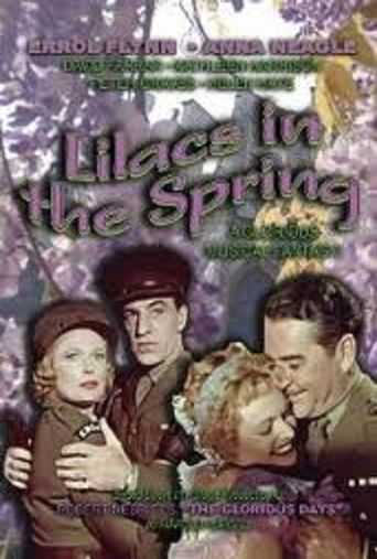 Lilacs in the Spring Poster