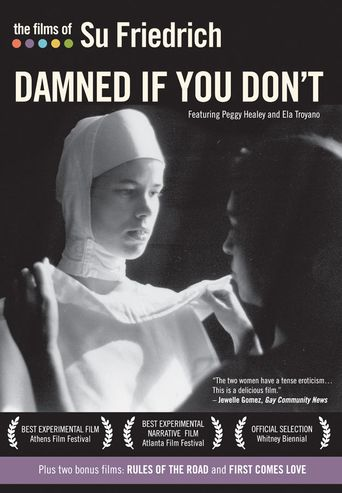 Damned If You Don't Poster