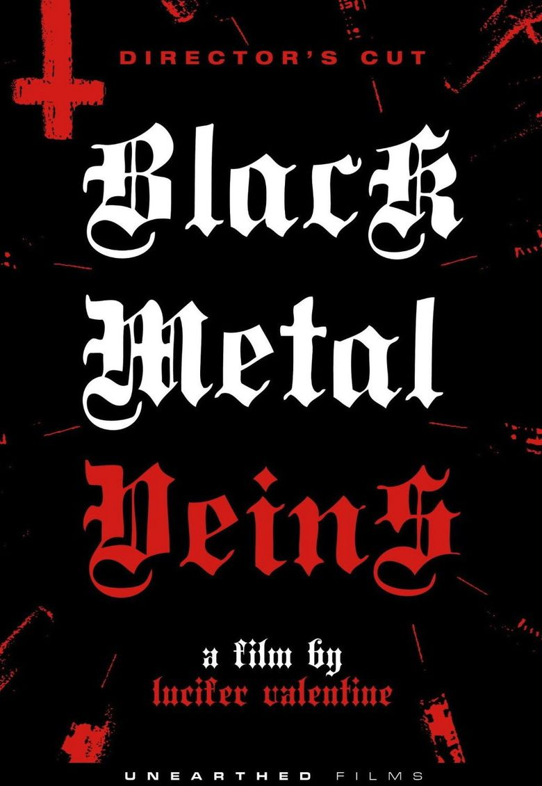 Black Metal Veins Poster