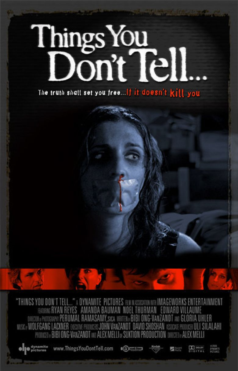 Things You Don't Tell Poster