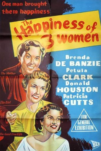 The Happiness of Three Women Poster