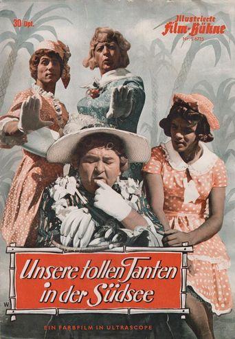 Unsere tollen Tanten in der Südsee Poster