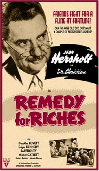 Remedy for Riches Poster
