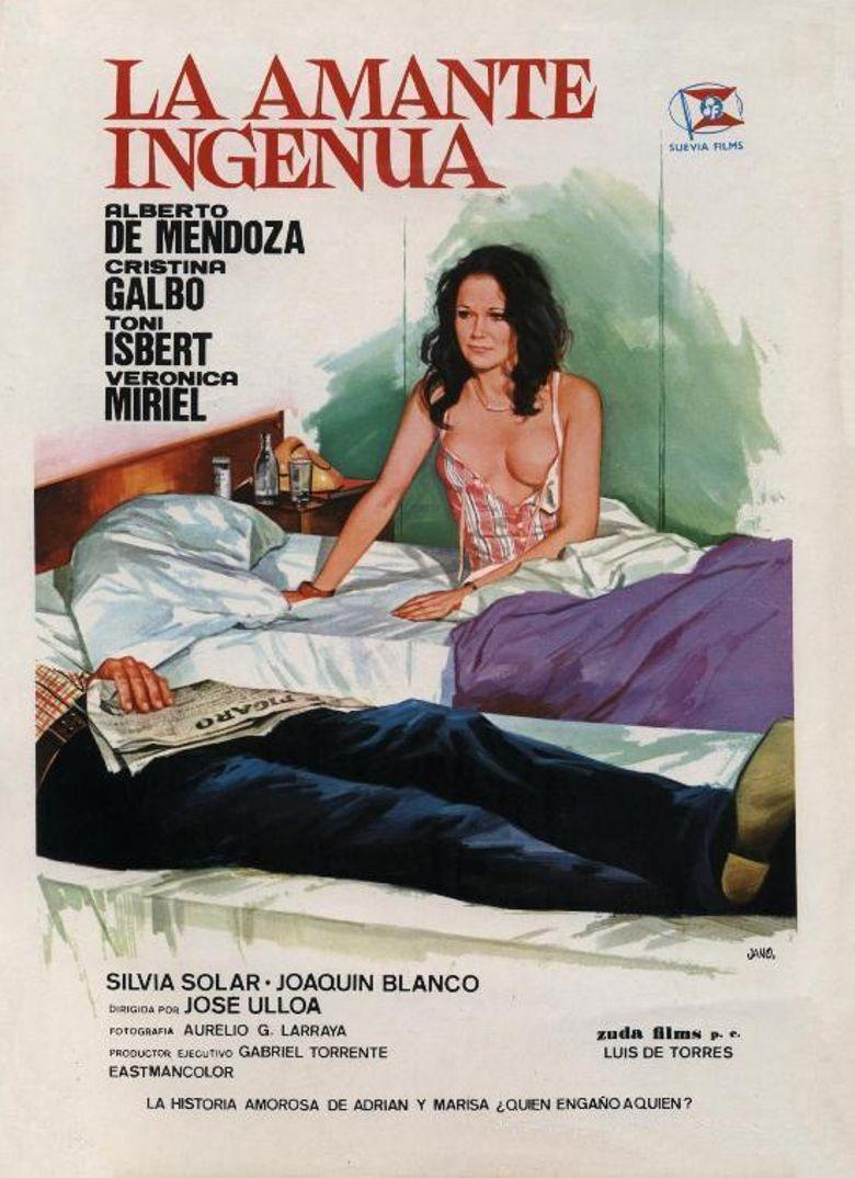 La amante ingenua Poster