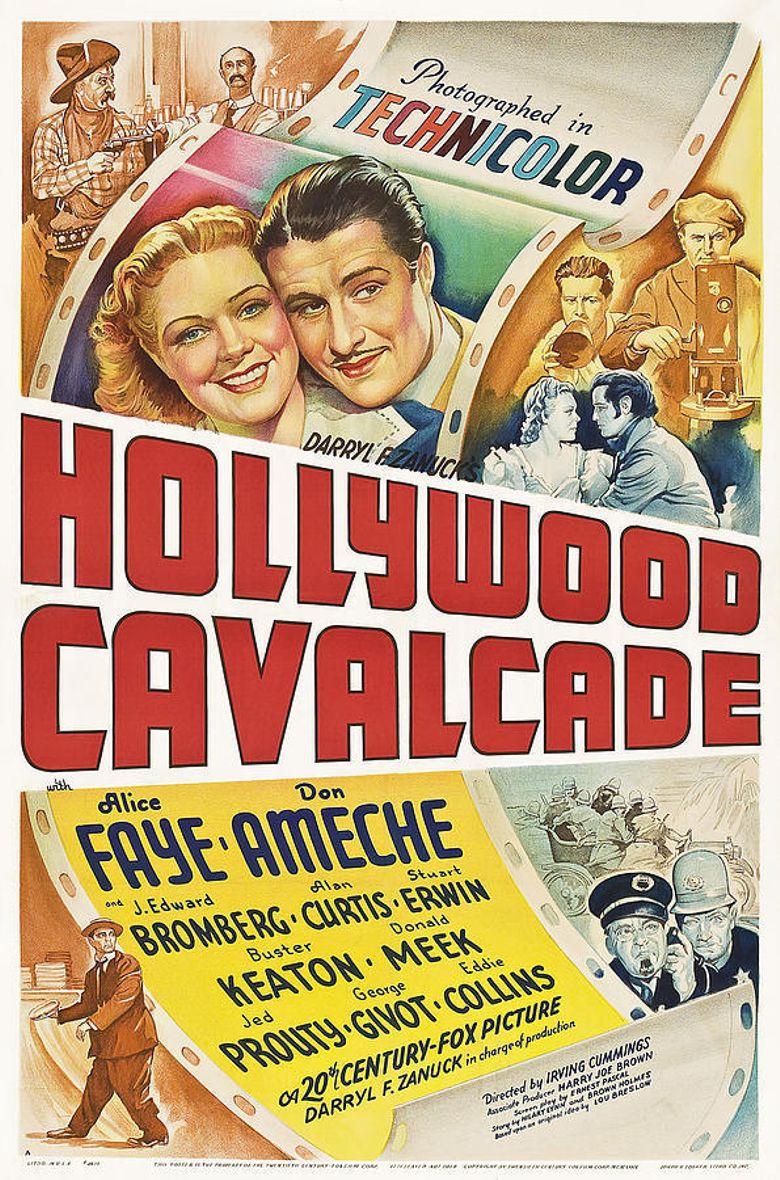 Hollywood Cavalcade Poster
