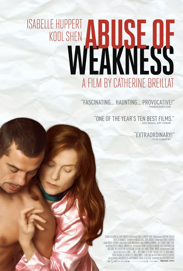Abuse of Weakness Poster