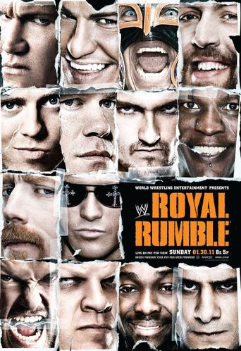 WWE Royal Rumble 2011 Poster