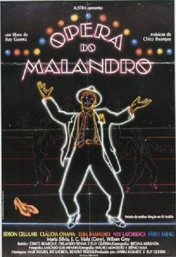 Malandro Poster