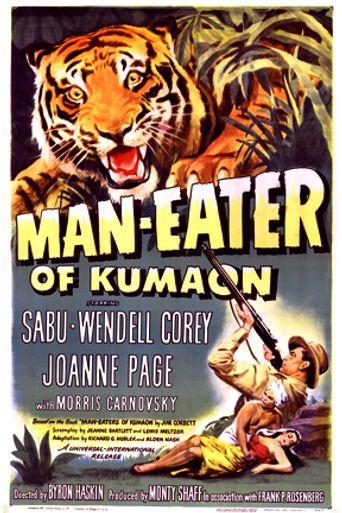 Man-Eater of Kumaon Poster