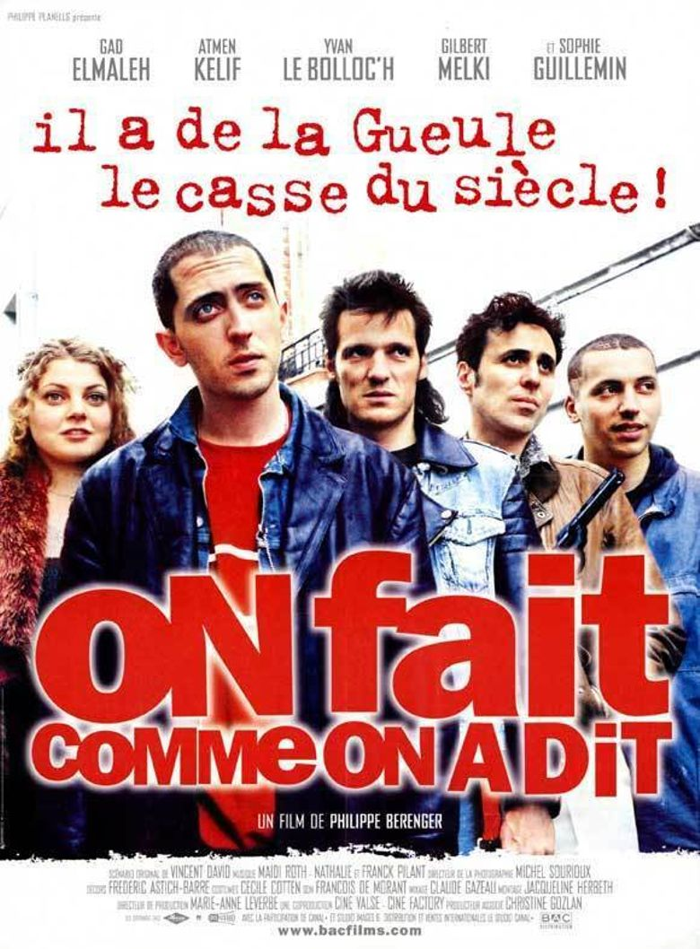 On fait comme on a dit Poster