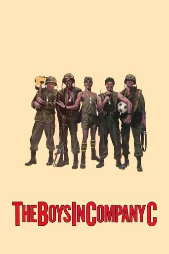 The Boys in Company C Poster