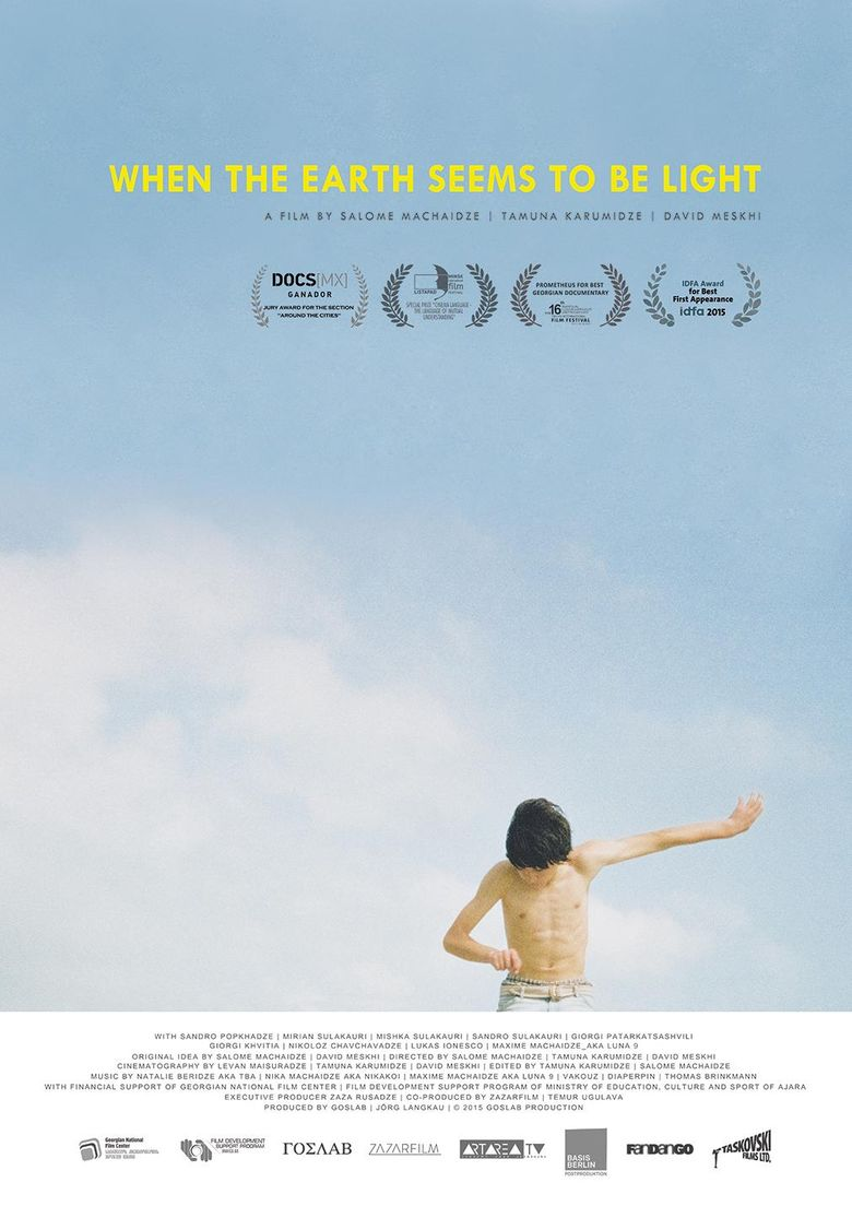 When the Earth Seems to Be Light Poster