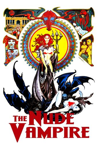 The Nude Vampire Poster