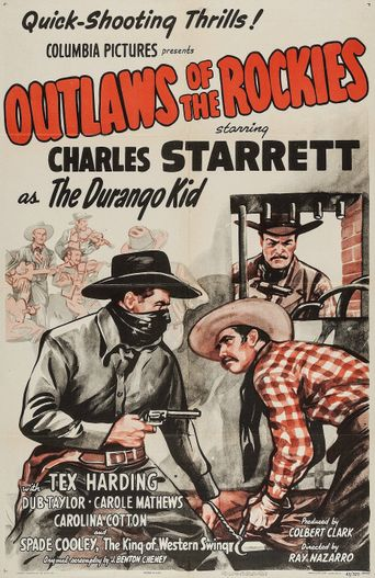 Outlaws of the Rockies Poster