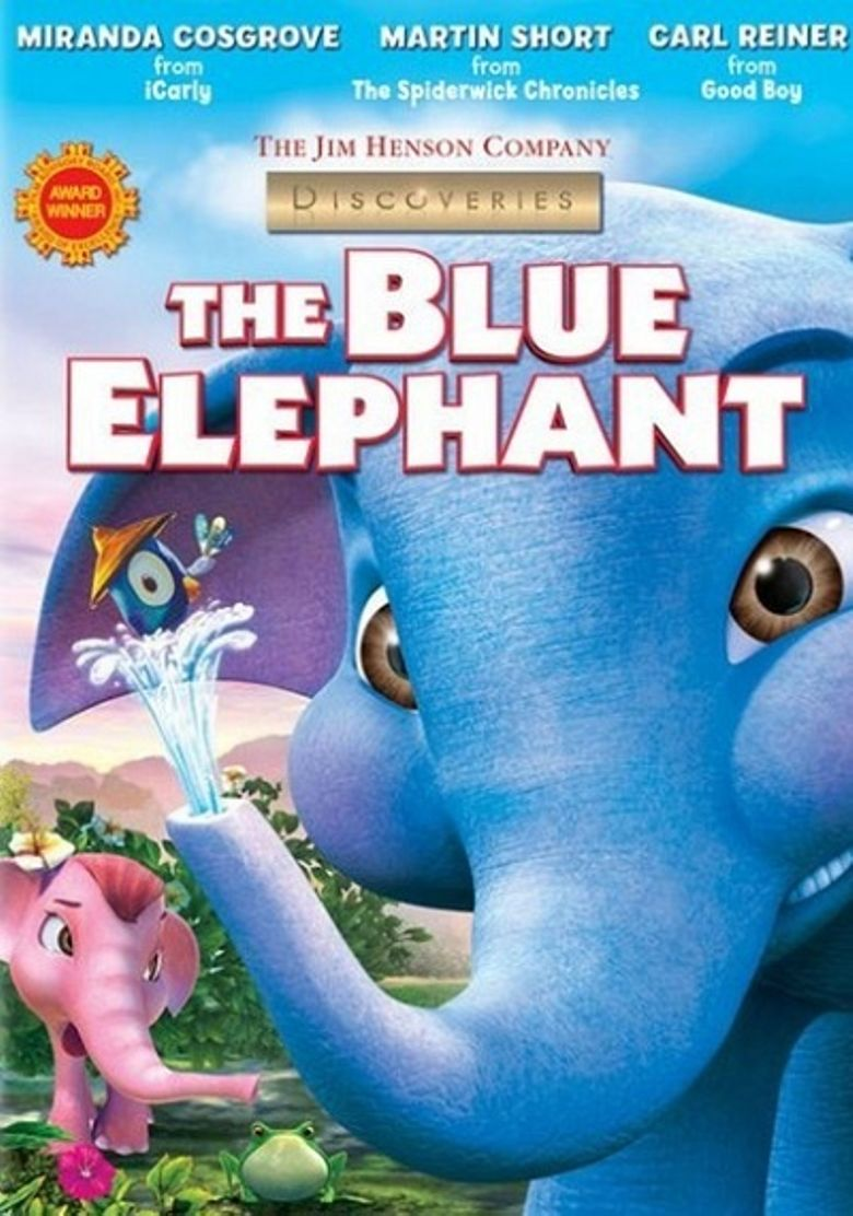 The Blue Elephant Poster