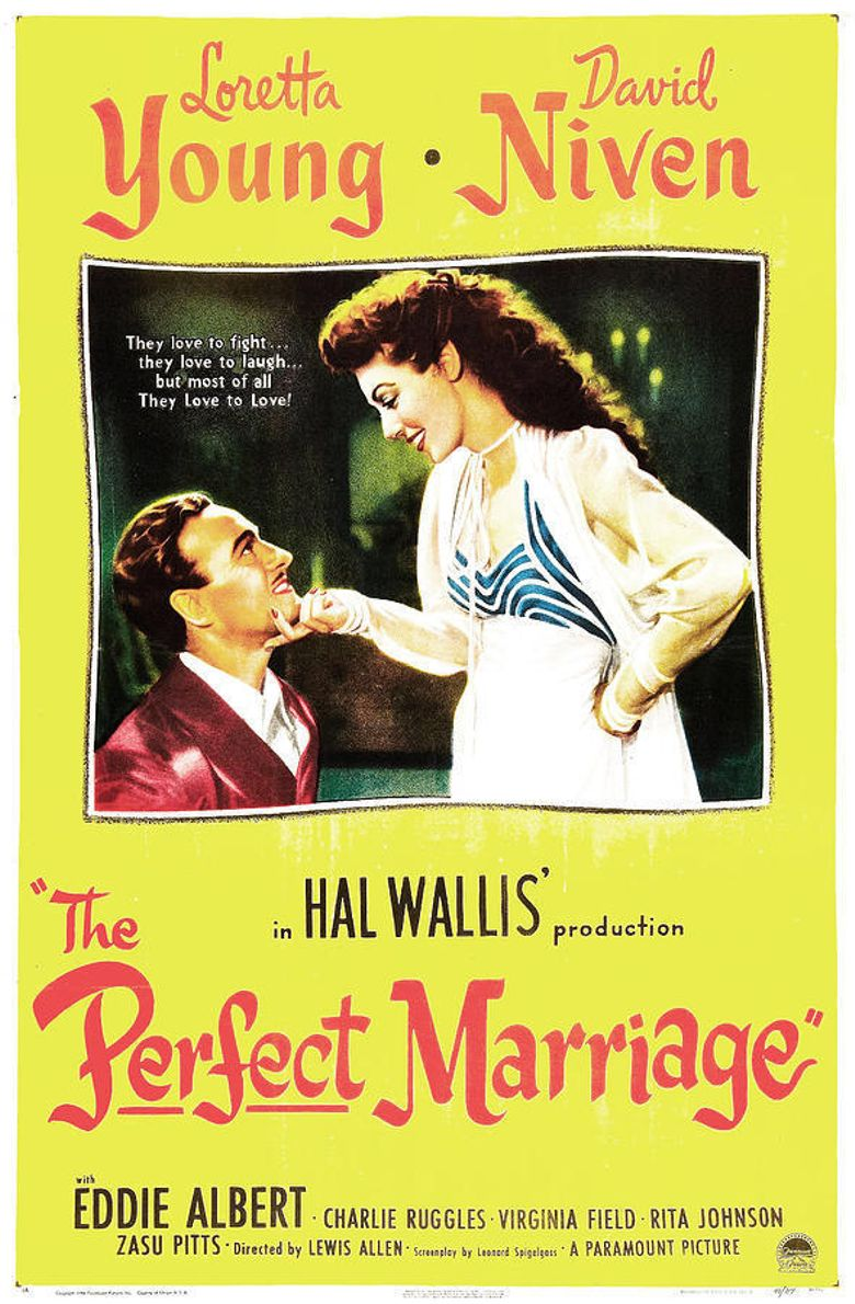 The Perfect Marriage Poster