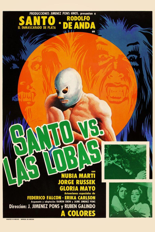 Santo vs. the She-Wolves Poster