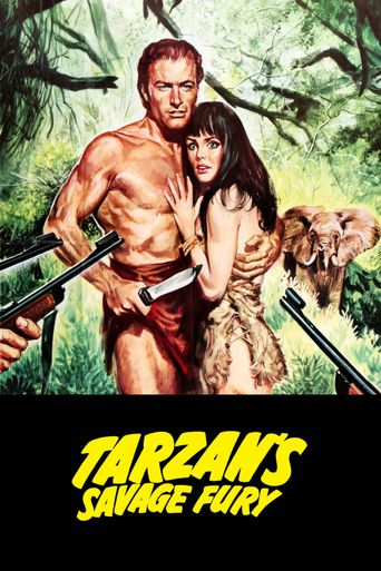 Tarzan's Savage Fury Poster
