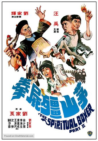 The Shadow Boxing Poster