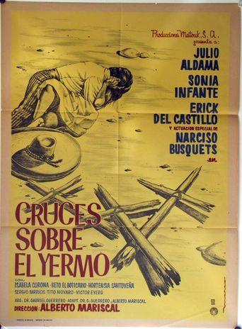 Cruces sobre el yermo Poster