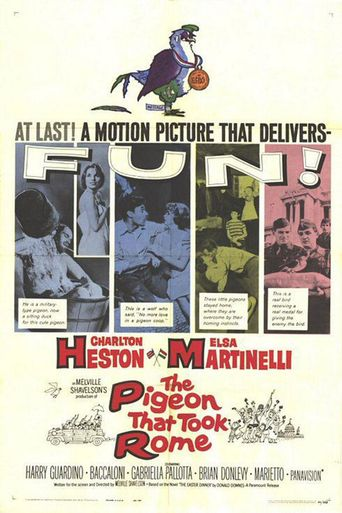 The Pigeon That Took Rome Poster