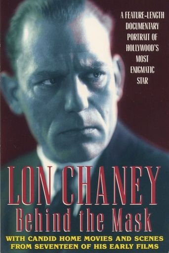 Lon Chaney: Behind the Mask Poster