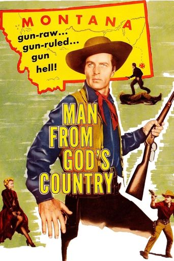 Man from God's Country Poster