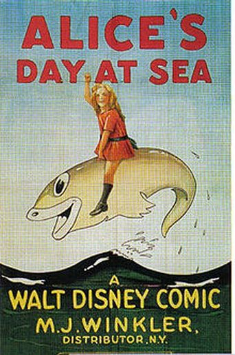 Alice's Day at Sea Poster