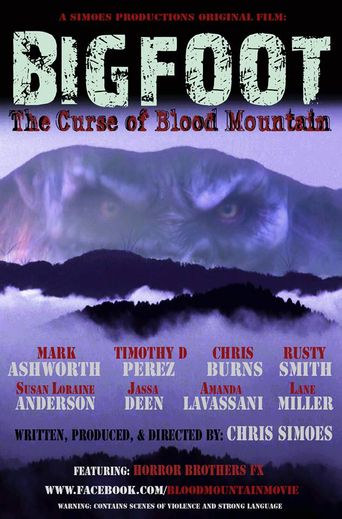 Bigfoot: The Curse of Blood Mountain Poster