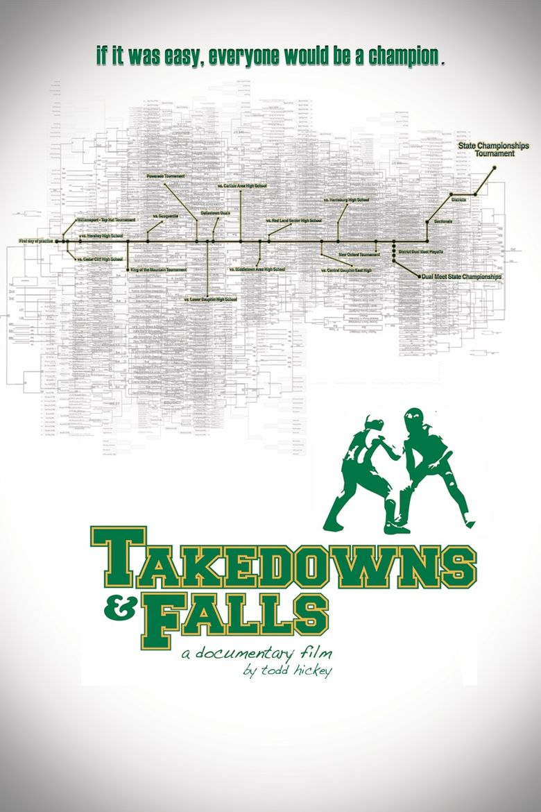Takedowns and Falls Poster