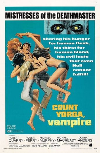 Count Yorga, Vampire Poster