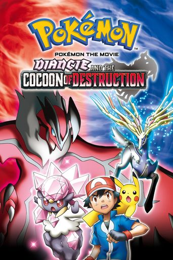 Pokémon the Movie: Diancie and the Cocoon of Destruction Poster