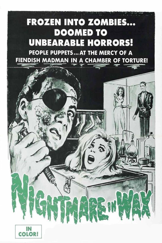 Nightmare in Wax Poster