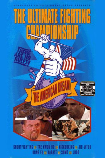 UFC 3: The American Dream Poster