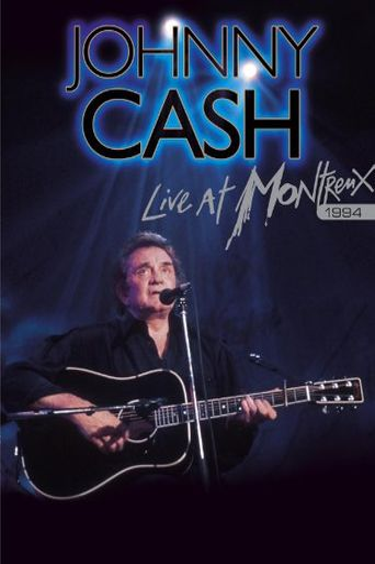 Johnny Cash - Live at Montreux 1994 Poster