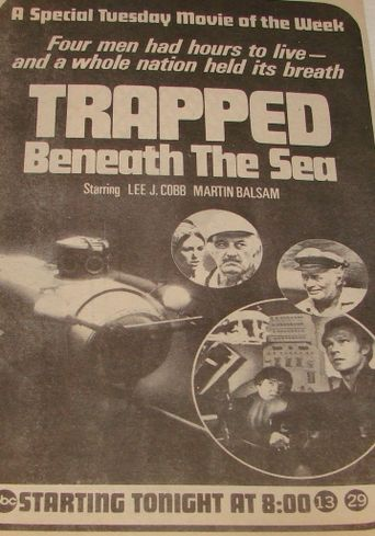 Trapped Beneath the Sea Poster